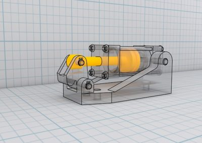 CAD 3D 立体図